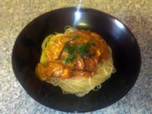 Spaghetti mit Steinpilz-Maronen-Marsala-Sauce - Rezept