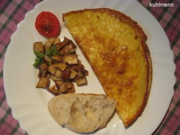 Omeletts pikant - Rezept