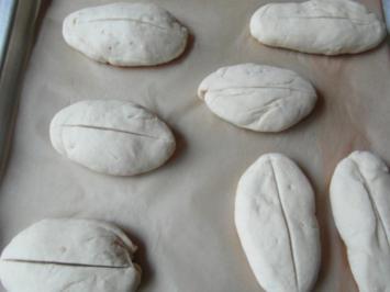 Backen :  helle Brötchen / Semmel - Rezept