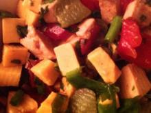 Wurst-Käsesalat - Rezept