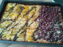 Schneller Fruchtkuchen vom Blech - Rezept