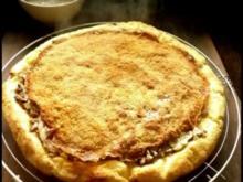 Kartoffelkuchen mit Steinpilz-Füllung und Knusperkruste - Rezept