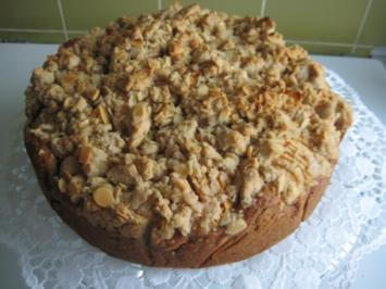 Marroni-Apfel-Kuchen Beschwipst - Rezept