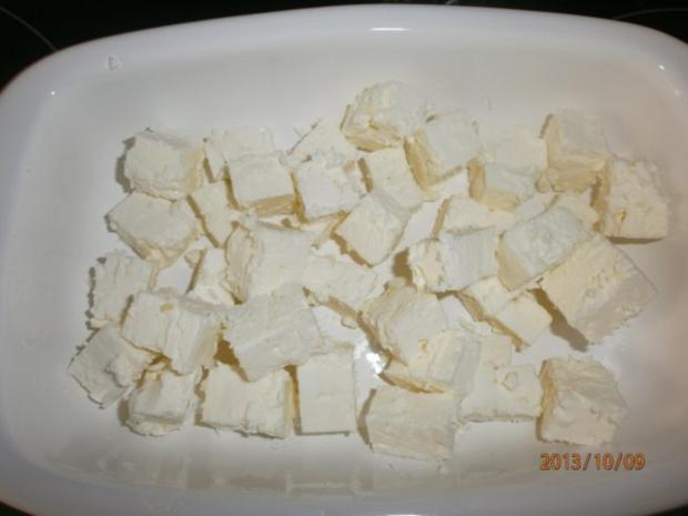 Nudelsalat griechisch angehaucht mit Rinder-Minutensteaks vom bayerischen Jungbullen - Rezept - Bild Nr. 5