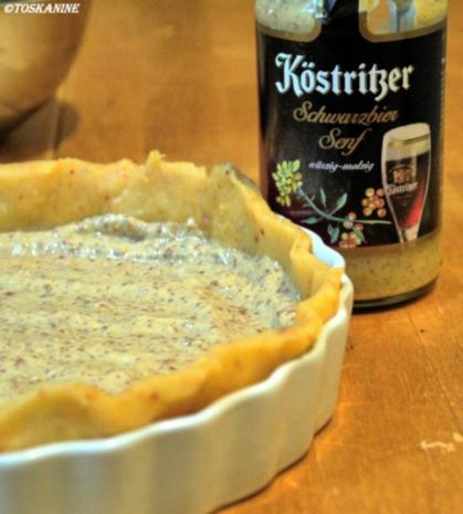 Ziegenkäse-Birnen-Tarte - Rezept - Bild Nr. 7