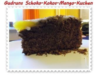 Kuchen Schoko Kokos Mangokuchen Rezept Kochbar De