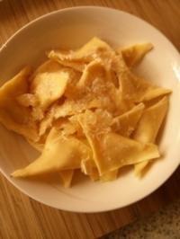 Teigtaschen gefüllt mit Gorgonzolakürbis - Rezept