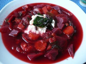 Rote - Bete - Suppe - Rezept