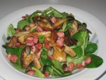 Feldsalat Jägerart oder auch Nüsslisalat - Rezept