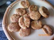 Zwiebel-Salami-Kekse - Rezept