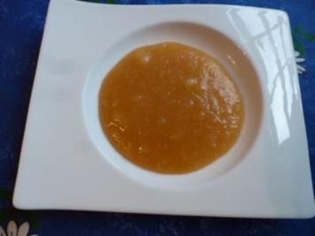 Apfelbrei mit Stevia - Rezept