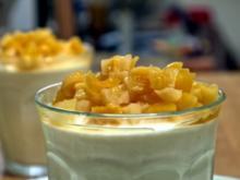Aniscreme mit Ouzo-Aprikosen - Rezept