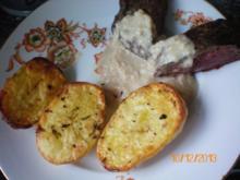 Straußensteak mit Backkartoffeln - Rezept