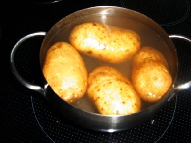 Ofenkartoffel mit Hähnchenbrust gefüllt - Rezept - Bild Nr. 4
