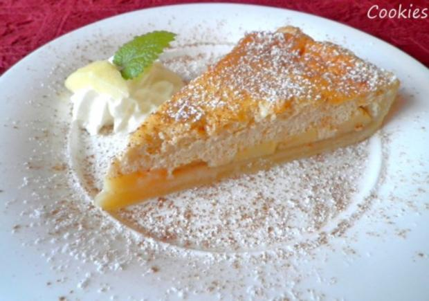 Apfelkuchen mit Zimt - Schmandguss - Rezept