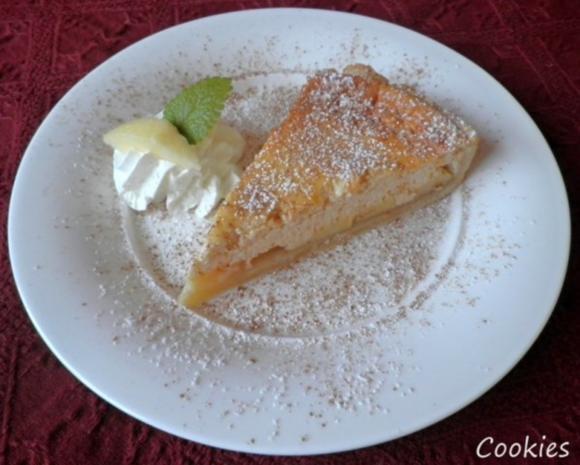 Apfelkuchen mit Zimt - Schmandguss - Rezept - Bild Nr. 2
