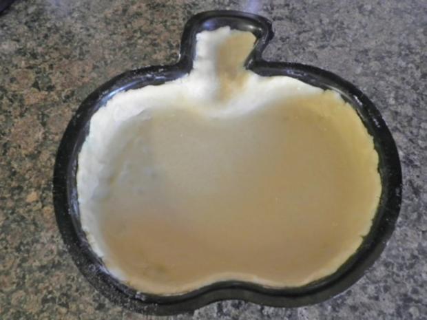 Apfelkuchen mit Zimt - Schmandguss - Rezept - Bild Nr. 5