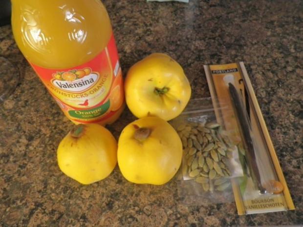 Quitten - Orangen - Marmelade - Rezept - Bild Nr. 4