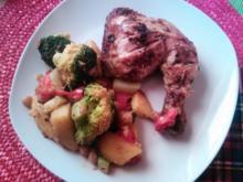 Kartoffel-Broccoli-Tomaten Salat - Rezept
