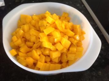 Mango Marmelade mit Ingwer - Rezept