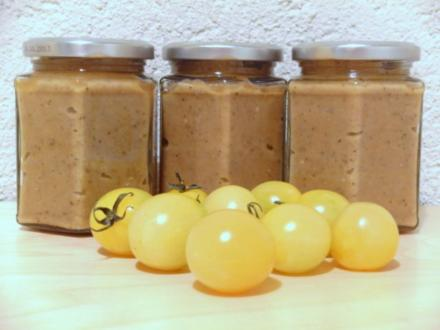 Gebackene-Auberginen-Creme mit Prosecco - Rezept