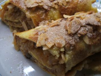 Dessert: Apfelpfannkuchen - Rezept