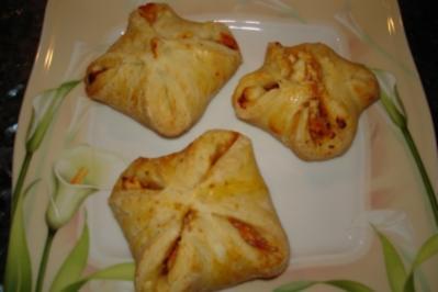 Paprika-Käse-Taschen - Rezept