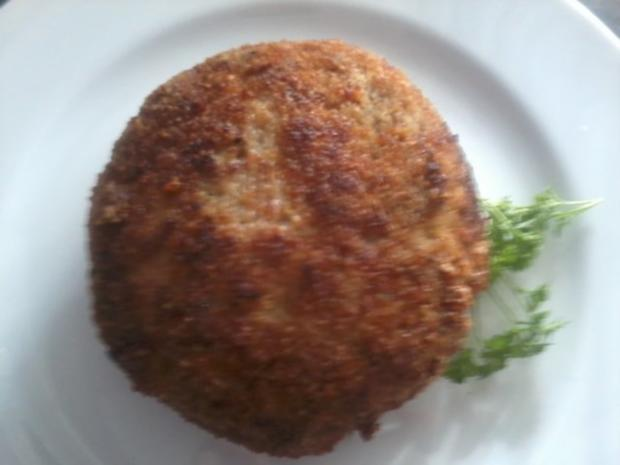 Cordon Bleu aus faschiertem Rindfleisch - Rezept
