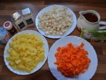 Kartoffelcremsuppe - Rezept