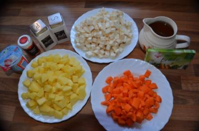 Rezept: Kartoffelcremsuppe