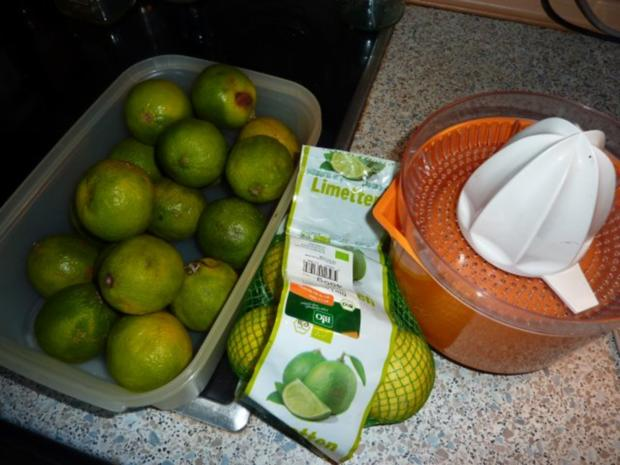 Marmelade: Limettenmarmelade - Rezept - Bild Nr. 2