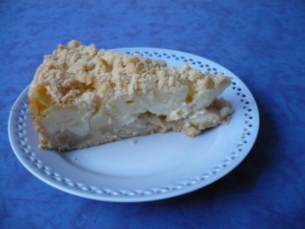 Apfel Pudding Streusel Kuchen Rezept Kochbar De
