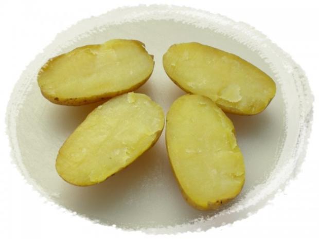 Panierter Blumenkohl dazu gebackene Kartoffeleier - Rezept - Bild Nr. 8
