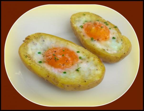 Panierter Blumenkohl dazu gebackene Kartoffeleier - Rezept - Bild Nr. 13
