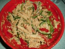 Thunfisch-Nudelsalat mit Paprika - Rezept