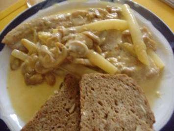 Schnitzel mit Käsesauce nach Ivanka - Rezept
