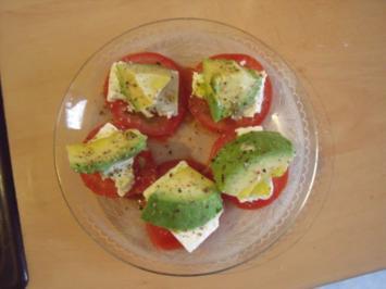 Rezept: Tomate Schafskäse