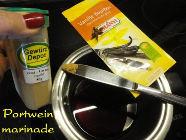 herbstliches Maroni Dessert mit Portwein Birne - Rezept - Bild Nr. 11