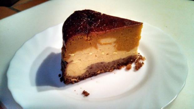 """Pumpkin Cheese Cake  /  """" Cheesecake Factory N.Y.""""   /  Kürbis Käse Kuchen - Rezept - Bild Nr. 8"""