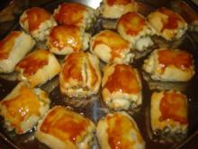 Pistazienröllchen in Sirup - Rezept
