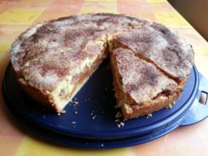 Gedeckter Apfelkuchen - Rezept