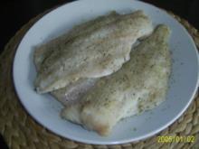 Fisch: Gebratener Dorsch mit frischen buntem Pfannengemüse - Rezept