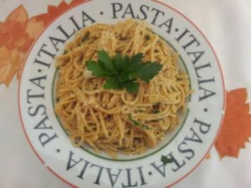 Rezept: Scharfe Knoblauchspaghetti