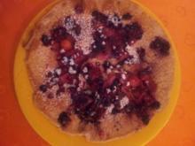 Pfannkuchen mit Beeren - Rezept