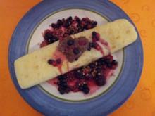 Pfannkuchen mit Nutella und Beeren - Rezept