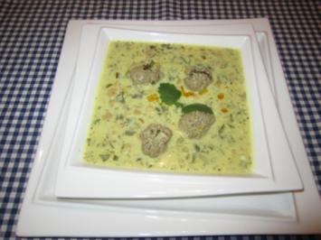 Kichererbsen-Suppe aus Persien - Rezept