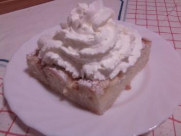 Blitz-Apfelkuchen - Rezept