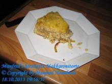 Auflauf – Manfred's herzhafte Makkaronitorte - Rezept