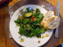 Spinatsalat - Rezept