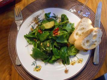 Rezept: Spinatsalat